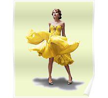 Taylor's flowy dress  Poster