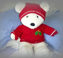 He is so cuddly, Bertie Bear by EdsMum