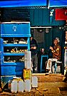 Tea Stall Chatter by Vikram Franklin