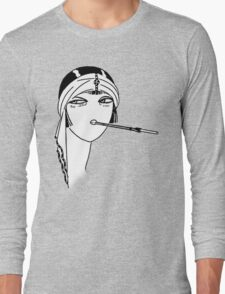 Queen of the Flappers Long Sleeve T-Shirt