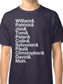 Type Doctors Classic T-Shirt
