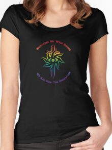 Rainbow Inquisition Women's Fitted Scoop T-Shirt