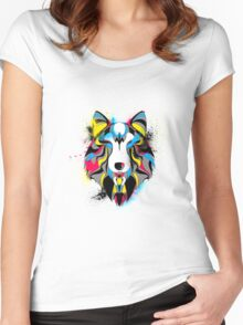 Wolves Den Women's Fitted Scoop T-Shirt