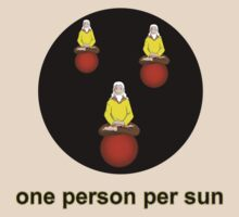 One person per sun by Platypusboy