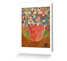 The Flowers of Eve Greeting Card