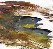 The trout by Jenny Wood