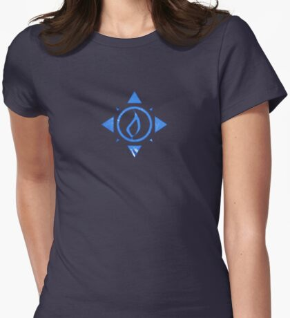 Fallen Faction: Cryptic Womens Fitted T-Shirt