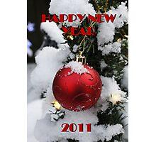 HAPPY NEW YEAR 2011 Photographic Print