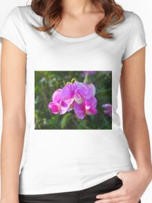 Sweet lil Sweet Pea Women's Fitted Scoop T-Shirt