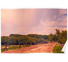 The Road To Bannack State Park Ghost Town Poster