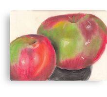 Temptation fruit Canvas Print