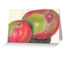 Temptation fruit Greeting Card