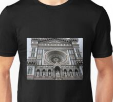 Facade of the Duomo - Florence Unisex T-Shirt