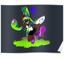 Splatoon Inkling (Green) Poster
