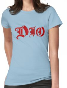 Dio Logo Womens Fitted T-Shirt