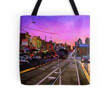 Bridge Road Sunset-Melbourne Tote Bag
