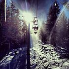 Chairlift to heaven by PosteroMedia
