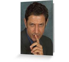Jeff Goldblum Greeting Card