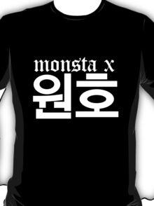 Monsta X Wonho Name/Logo 2 T-Shirt