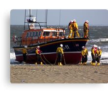 'Lincolnshire Poacher' - Skegness Canvas Print