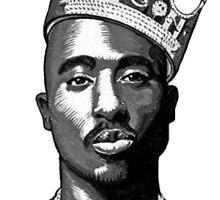 Tupac by rosopayah