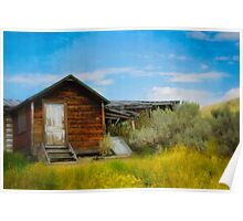 Aged Cabin Poster