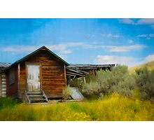 Aged Cabin Photographic Print