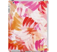 Abstract Paint Pattern iPad Case/Skin