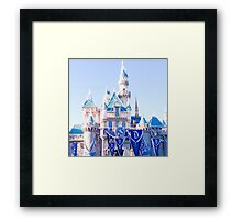 Sleeping Beauty's Castle #1 Framed Print