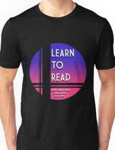 Learn to Read -Falcon Unisex T-Shirt