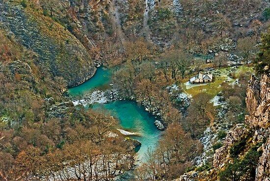 Vikos Gorge by Konstantinos Arvanitopoulos