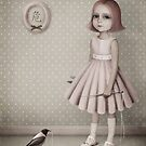 Sofia and Сrow by Larissa Kulik