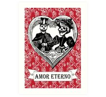 AMOR ETERNO | ETERNAL LOVE  Art Print