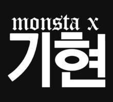 Monsta X Kihyun Name/Logo 2 Kids Tee