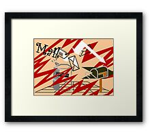 Spam and where it comes from Framed Print