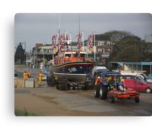 Lincolnshire Poacher & Peterborough Beer Festival IV Lifeboats - Skegness Canvas Print