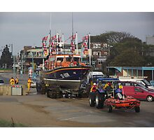 Lincolnshire Poacher & Peterborough Beer Festival IV Lifeboats - Skegness Photographic Print