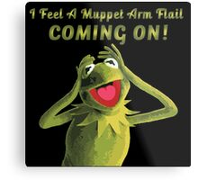 I Feel a Muppet Arm Flail Coming On! Metal Print