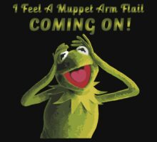 I Feel a Muppet Arm Flail Coming On! One Piece - Short Sleeve