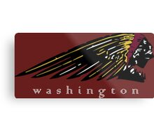 Washington Redskins Metal Print