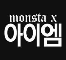 Monsta X I.M Name/Logo 2 Kids Clothes