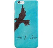 One for Sorrow iPhone Case/Skin