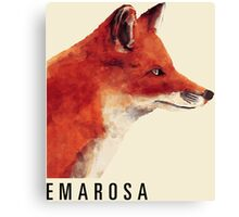Emarosa Versus Fox Canvas Print