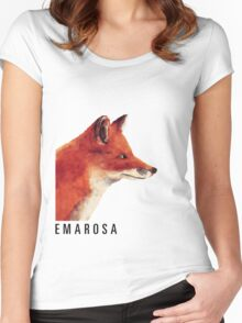 Emarosa Versus Fox Women's Fitted Scoop T-Shirt