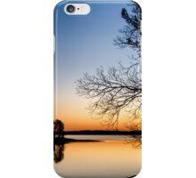 Lake Hartwell Silhouette iPhone Case/Skin