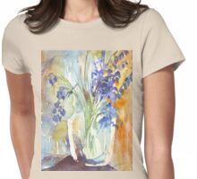 Charming Naturalness Womens Fitted T-Shirt