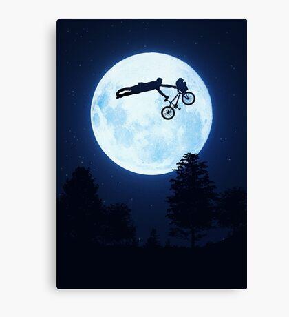 Riding the Kuwahara BMX. Like A Boss! Canvas Print