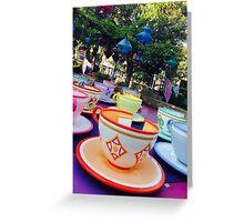 Tea Cups Greeting Card