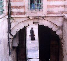 Woman in Archway by Maya Hiort Petersen
