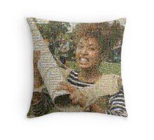 BoxWars Girl Throw Pillow